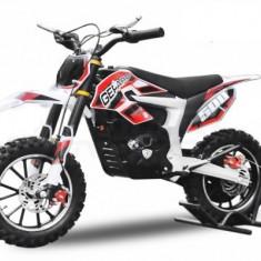 Mini Motocicleta Eco Ghepard 500W 24V Rosu