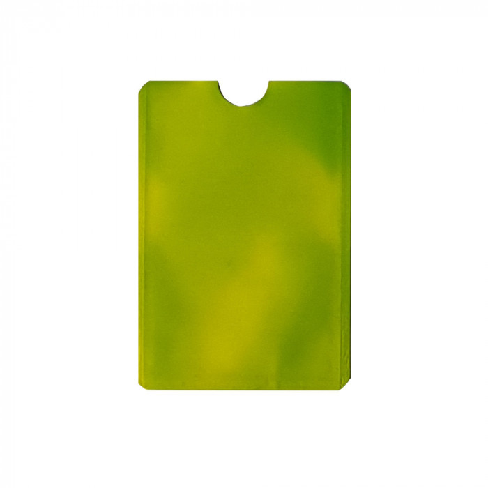 Folie protectie credit card bancar, contactless, model CF11V2