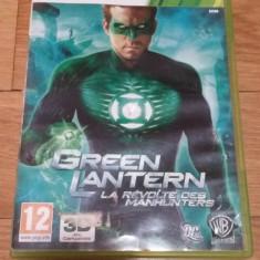 Joc XBOX 360 Green Lantern Rise of Manhunters original PAL / by WADDER, Actiune, 12+, Multiplayer