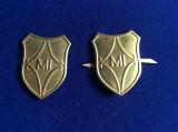 Insigne militare -Insigne România -Semne de armă - Ministerul de Interne - MI