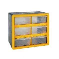 Organizator accesorii Strend Pro SBx3045-A, 6 sertare, 265x160x235 mm, maxim 12 kg Mania Tools
