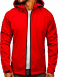 Cumpara ieftin Geacă softshell bărbați roșie Bolf 56008