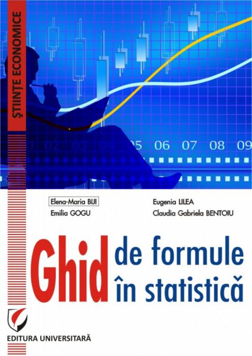 Ghid de formule in statistica