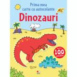 Prima mea carte cu autocolante. Dinozauri/***
