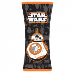 Protectie pentru centura de siguranta Star Wars BB8, portocaliu
