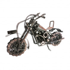 MACHETA METAL MOTOCICLETA MARE-28 CM