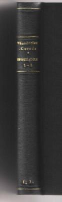 Efimeridele vol. I-II 1930-1937/ Beizadea Mitica - M. Theodorian Carada  legate foto