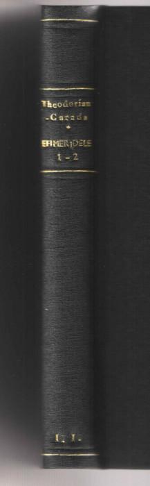 Efimeridele vol. I-II 1930-1937/ Beizadea Mitica - M. Theodorian Carada  legate