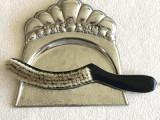 Art Deco - set de curatat masa - argintat