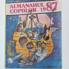 Almanahul Copiilor 1987 (format mare cu multe Benzi Desenate)