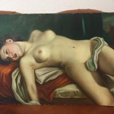 tablou nud pictor Ioan Statescu