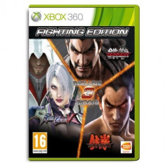 Fighting Edition: Tekken 6 + Soulcalibur 5 + Tekken Tag Tournament 2 XB360