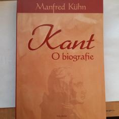 Kant, o biografie (M. Kuhn)