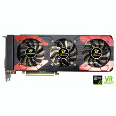 Placa video Manli Nvidia GTX 1070TI, 8GB GDDR5, HDMI, 3x Display Port, Dual-Link DVI, 256 Biti