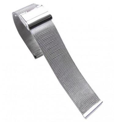 Bratara Ceas MILANEZA Impletita Argintie 12mm - 24mm WZ1235 foto