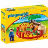 Figurina Tarc cu Lei - 1.2.3, Playmobil