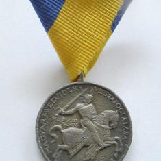 u386 UNGARIA HORTISTA 1941 MEDALIA ANEXAREA VOIVODINEI IANCU DE HUNEDOARA