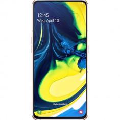 Galaxy A80 Dual Sim 128GB LTE 4G Auriu 8GB RAM, Smartphone, Fara suport card, 8 GB, Samsung