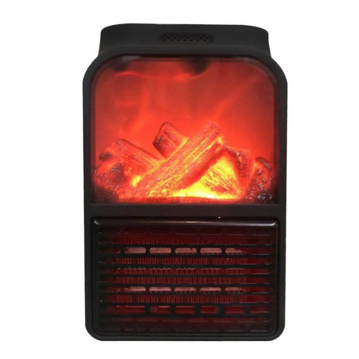 Aeroterma portabila Flame Heater, 900 W, 2 niveluri temperatura, display digital