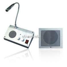 Interfon Ghiseu, Microfon Casierii Banca, Case Amanet RL9908