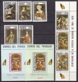 Paraguay 1966  pictura  MI  1666-1673  + 2 bl.95,96   MNH, Nestampilat