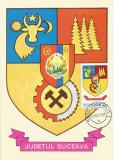România, LP 942/1977, Stemele judeţelor (E-V), (uzuale), c.p. maximă, Suceava