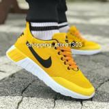 Adidasi Nike  pantofi sport Nike new model 2019, 40 - 43, Galben, Textil