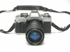 Minolta XG-M + obiectiv Rokinon 35-135mm f3.9-5.3 foto