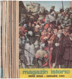 Magazin istoric - anul XXVII - 1993 - 11 numere (310 - 318, 320 - 321)