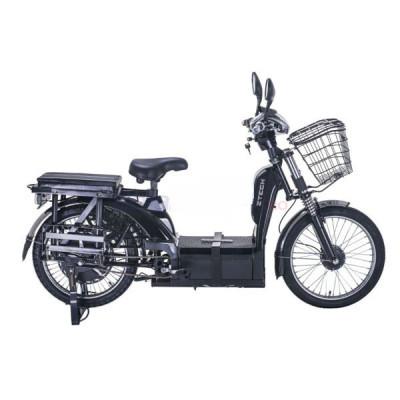 Bicicleta electrica, tip scuter nu necesita inmatriculare ZT-33 LASER NEGRU foto