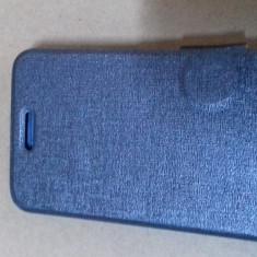 Husa Book pentru telefon  Huawei Y 511, Argintiu