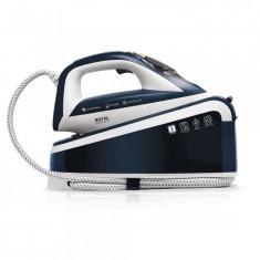 Statie de calcat Albatros Royal steam care blue, 3000 W, 8 bar, Talpă ceramică, Rezervor 1.5 L, Funcţie de auto-curăţare, Reglaj automat temperatură,
