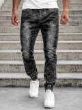 Cumpara ieftin Pantaloni army joggers negri bărbați Bolf RB9486DT