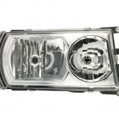 Far dreapta (4 LED 8 LED H1 H21W H7 reglaj electric crom insertii crom semnalizator portocaliu) SCANIA P G R T dupa 2004