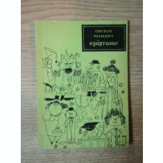 EPIGRAME de CINCINAT PAVELESCU , 1966