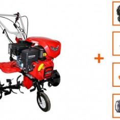 Motocultor Loncin LC850, 7 CP + plug + rarita + roti M.