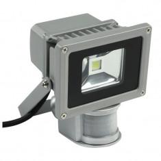 Proiector cu LED, 10 W, ECO LED, senzor de miscare