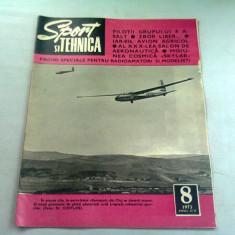 REVISTA SPORT SI TEHNICA NR.8/1973