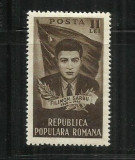 ROMANIA 1951 - FILIMON SARBU - MNH - LP 282