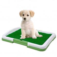 Tavita Toaleta pentru Casa cu Gazon Artificial pentru Caini, Pisici sau Alte Animale de Companie foto