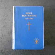 NOUL TESTAMENT CU PSALMI (GIDEONS, 9X12 cm)
