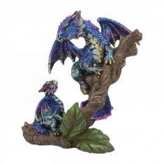 Statueta dragon cu pui Protectorul dragonelului 11 cm