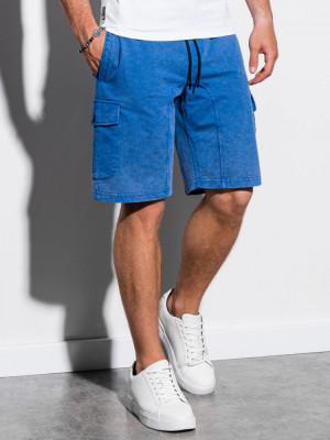 Pantaloni scurti barbati W225 - albastru foto