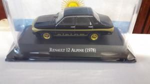 macheta renault 12 alpine 1978 - ixo, 1/43, noua.