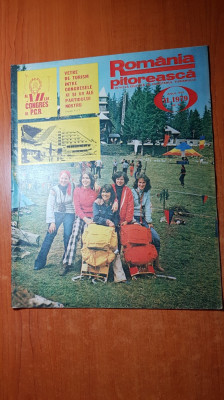 romania pitoreasca noiembrie 1979-art. si foto jud. harghita si muntii retezat foto