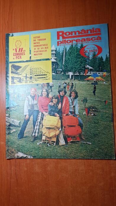 romania pitoreasca noiembrie 1979-art. si foto jud. harghita si muntii retezat