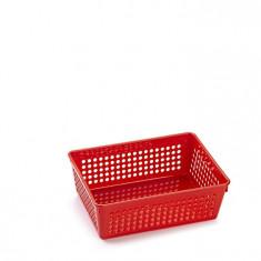 Cutie din plastic diverse intrebuintari-rosu
