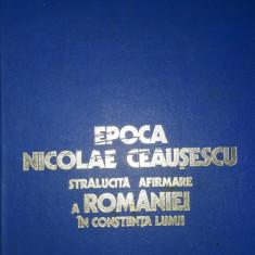 Epoca Nicolae Ceausescu
