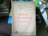 MANUAL DE MUZICA. CLASA III-A SECUNDARA - DIMITRIE CUCLIN