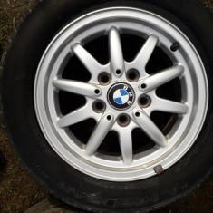 Jante BMW Style 27 R15 de 15″ impecabile Turda Cluj cu Anvelope 205/ 60 R 15